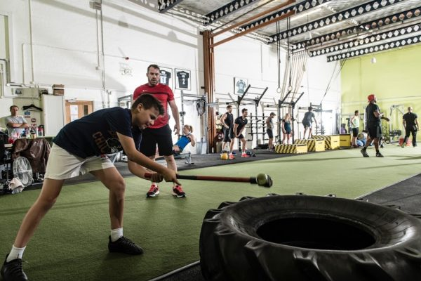 Open community gym and fitness at The Foundary