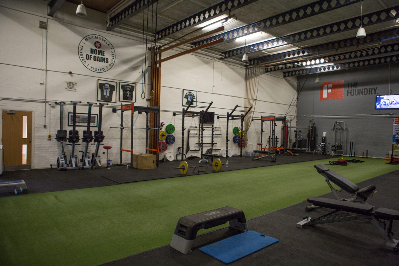 The Foundry – Gym and Fitness Studio | Black Prince